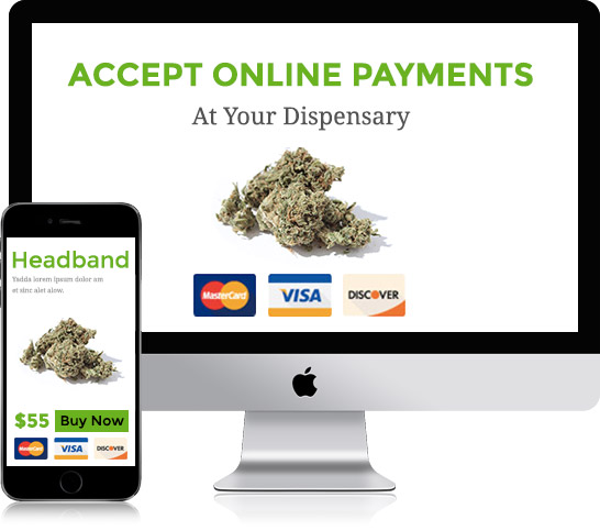 Accept Credit Card Payments Online for your Dispensary